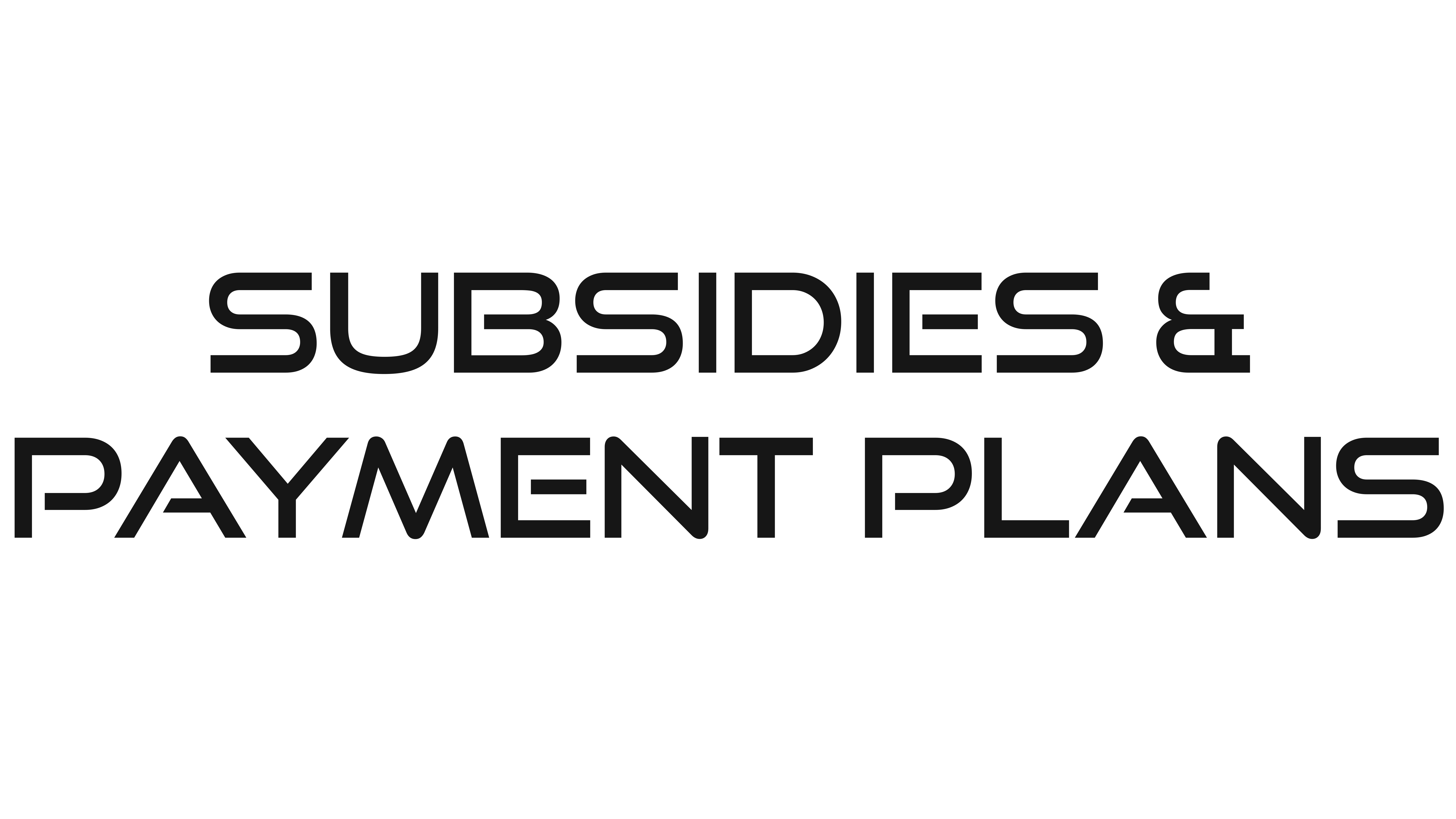 Subsidy Request